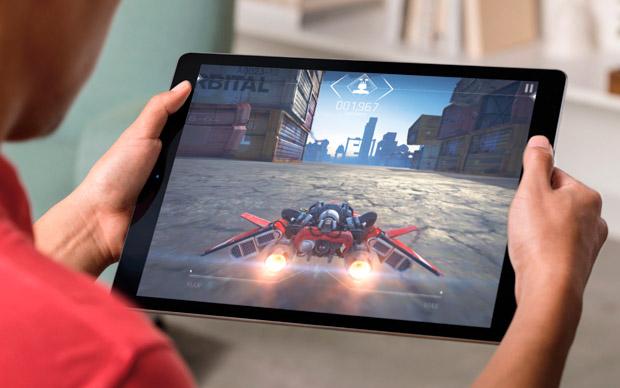 La iPad Pro con su gran pantalla