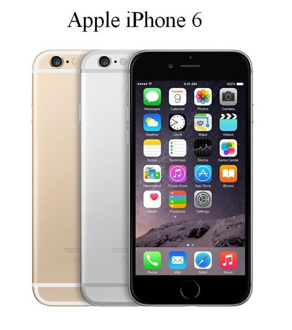Apple iPhone 6, colores