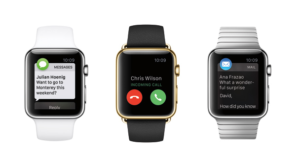 El Apple Watch viene en diferentes versiones.