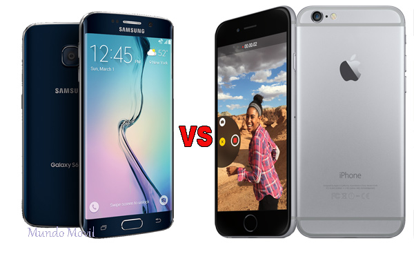 Samsung Galaxy S6 Edge vs. Apple iPhone 6 Plus