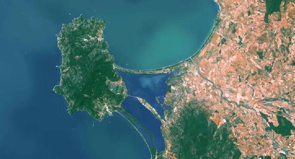Imágenes de video de nuestro planeta desde el espacio