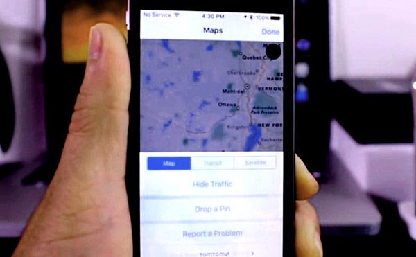 Los mapas del iOS de Apple, vendrán con utilidades imprescindibles para el usuario