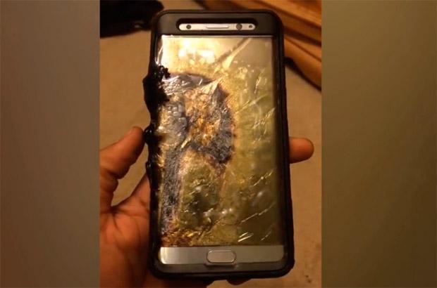 El Samsung Galaxy Note 7 con baterías defectuosas